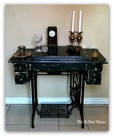 Antique and Vintage Sewing Machine Ideas