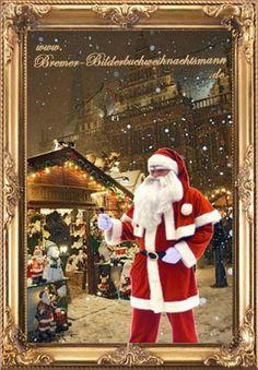 Weihnachtsmann wie aus dem Bilderbuch für Ihre Feier oder Veranstaltung