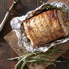 Roast Pork Loin with Rosemary and Garlic Recipe Reviews at Epicurious ...