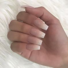 17 Ideas Manicure Ideas For Short Nails Brown Skin Aycrlic Nails, Dope Nails, Pink Nails, Coffin Nails, Ambre Nails, Faded Nails, Acryl Nails, Best Acrylic Nails, Acrylic Nails Coffin Ombre