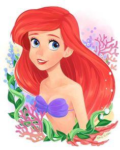 La preciosa sirena Ariel