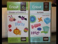"Card- Using Cricut ""Create a Critter 2"" and ""Artiste"""