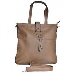 Edle Hochformat-Tasche aus weichem Soft-PU in 3 verschiedenen Farben. #handtasche #tasche #mode #fashion #damenmode #bag