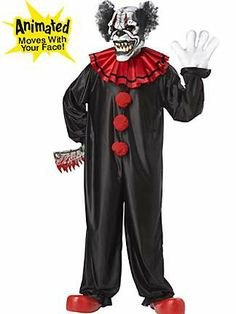 Mens Last Laugh the Clown Costume