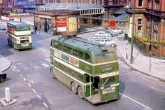 Trolley bus by Victoria Station Nottingham early Rail Transport, London Transport, Public Transport, 1960s Britain, Great Britain, Nottingham City Centre, Old Commercials, Bus Tickets, Good Old Times