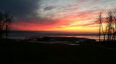 Sunset at Buffalo Point, MB