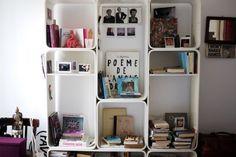 #vintage #bookcase in my #bedroom #alessandrasanti