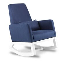Ordinaire Navy Blue Rocking Chair