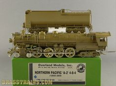 HO OMI 1448 Overland NP Northern Pacific 4-8-4 A-2 #2650-2659  Sold for $495.00