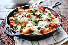 Make easy Skillet Lasagna with this recipe.