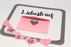 DIY: Ihr seid auf der Suche nach dem perfekten Geschenk für den Valentinstag für die Freundin oder den Freund? Geschenke zum Valentinstag für Männer sind gar nicht so leicht zu finden. Aber mit dieser süßen Anleitung für einen Liebesbrief, die von Herzen kommt, habt ihr die perfekte Geschenkidee!
