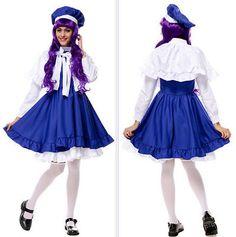 Cardcaptor Sakura Tomoyo Daidouji Lolita Dress Anime Cosplay Costume Ladies Sets