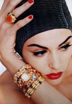Vogue Germany, June 1992 Model : Helena Barquilla
