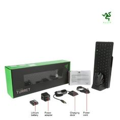 RAZER Turret Gaming Mouse and Lapboard - Now you can  dominate every game play from the comfort of your couch