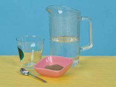 Experiment: Trockenes Wasser