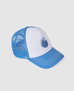 Gorra de niño B con B con rejilla combinada