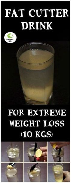 The weight loss process is hard and difficult process but, you shouldn't be worried because in this article we are going to show you a little secret how to speed up the weight loss process and lose weight much faster. It's very simple! You just have to add this powerful mixture into your healthy diet. Just take a look at the article below and find out more about this. #cutter #drink #extreme #weightloss