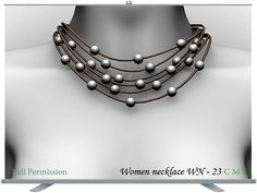 Women necklace WN - 23 Full Permission AO UV included You can not sell or transfer the right to resell or transfer. Pearl Necklace, Pearls, Jewelry, Women, String Of Pearls, Jewels, Schmuck, Pearl Necklaces, Jewerly