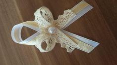 Svadobné pierko biela+smotanová+smotanová čipka