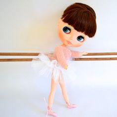 White Rehearsal Tutu for #Blythe doll