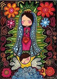 Resultado de imagen para virgencita de la sagrada familia