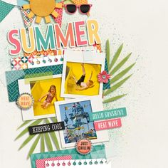 Sweet Shoppe Designs :: Digital Scrap Kits :: Sweet Summer by Melissa Bennett
