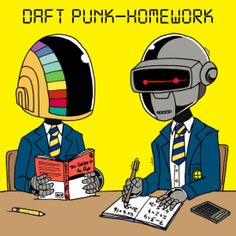 Download: Daft Punk – Homework | Out of The Radio. Soundtracks for your Life.
