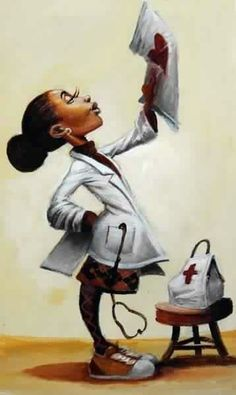 When I grow up I want to be a Doctor - aim high