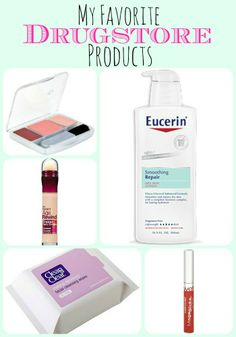 Drugstore Beauty Products every girl needs!!