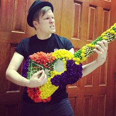 Patrick Stump...I was there when he got this...It was at the show I was at