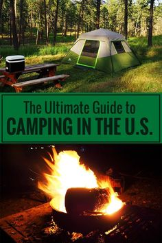 Where can you pitch your tent? What do you have to know about camping in the U.S.? Get answers to these questions!