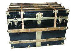 Vintage steam trunk