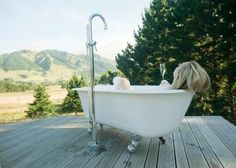 Image result for plumbing for outdoor bath