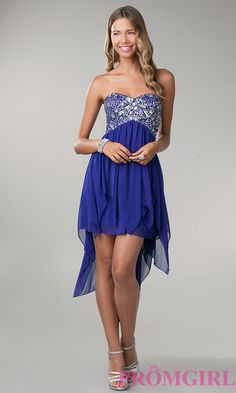 Short Prom Dress Style: BD-Q0154958 Front Image