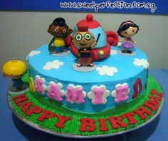 Sweet Perfection Cakes Gallery: Code LE 01 - Jamie & The Little Einsteins Birthday Party