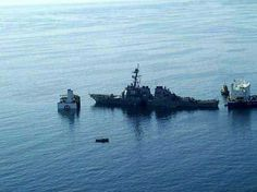 Recovery of the USS Cole