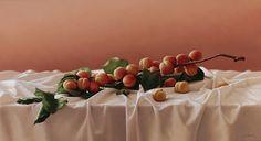 Still life, 50 x 92 cm, oil on canvas