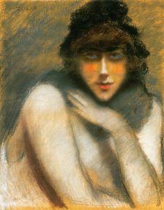 Jozsef Rippl Ronai ~ Post-Impressionist painter
