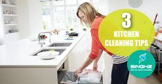If you are looking cheaper and eco friendly ways to solve your cleaning problem then following 3 kitchen cleaning tips will help you to get the Job done. #KitchenCleaning #BondCleaning #EndOfLeaseCleaning