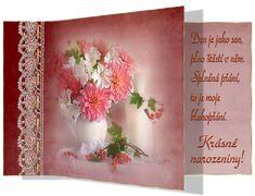 Narozeninové s říkankou - různé | Tvoření Decoration, Blog, Anna, Facebook, Board, Dekoration, Decorations, Deco, Decor