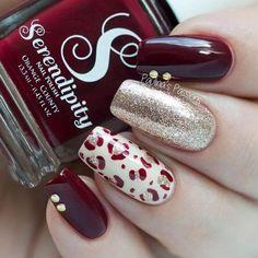 Pretty Autumn Nail Designs picture 5