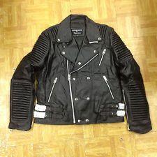 6d004c5509e2 NWTS supreme design motorcycle BIKER LEATHER JACKET hudson godspeed style