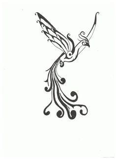 phoenix black and white - Google Search