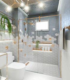 European Home Decor 75752 # Decoration 26 bathroom interiors to copy now interiors homedecor interiordesign homedecortips Modern Bathroom Design, Bathroom Interior Design, Wc Decoration, Decorations, Grey Wall Decor, European Home Decor, Yellow Walls, Bathroom Inspiration, Cheap Home Decor