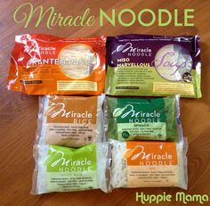 Review: Gluten-free, Calorie-free Miracle Noodles