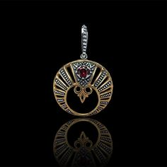 Lunula. Moon Crescent Necklace pendant jewelry. Slavic by RuyaN https://t.co/FTcVHZClGk https://t.co/YWqSdYbcap