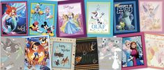 Disney Fabric, Gallery Wall, Frame, Home Decor, Picture Frame, Decoration Home, Room Decor, Frames, Hoop