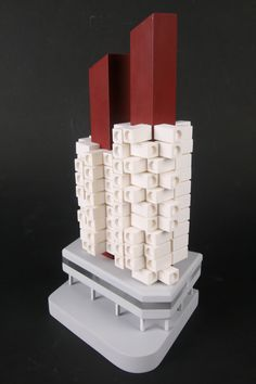 Nakagin capsule tower model