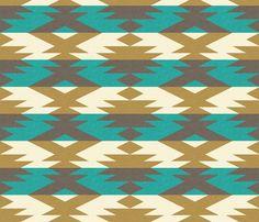 native_diamond fabric by holli_zollinger on Spoonflower - custom fabric @Caitlin Sullivan