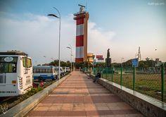 Marina Beach Lighthouse